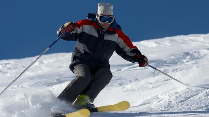 Skiing to Maintain Our Health