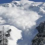 Bad Ski News -- a photo of an avalanche