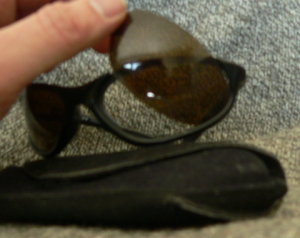 Removing the dark lenses from my Sliders