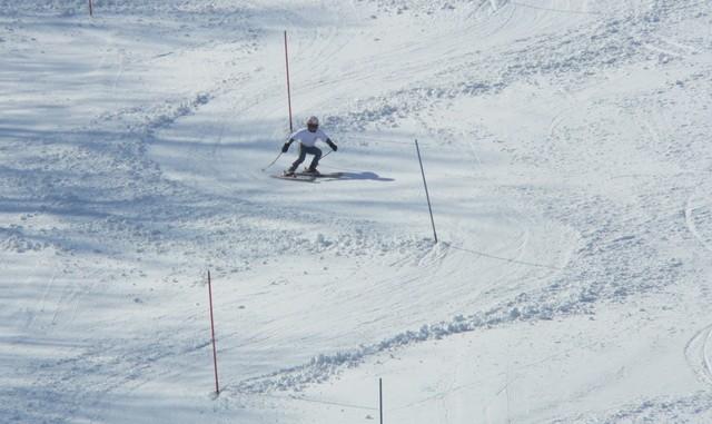 ski race at Ski Brule