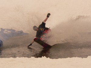 Olympic Pond Skimming!