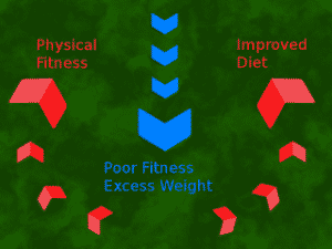 Fitness is a pincer attack!