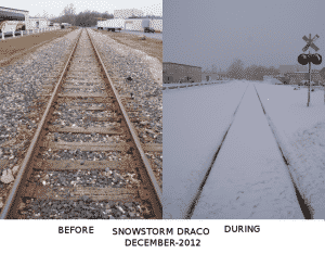 draco day before and during