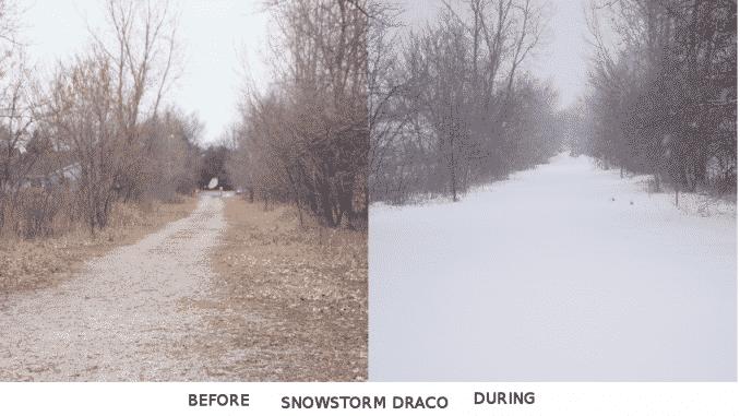 Draco snows the Path