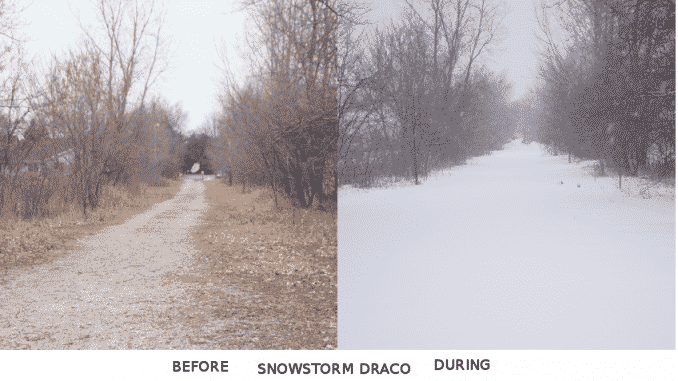 Draco snows the Path