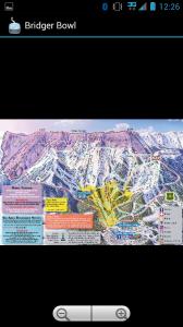 a ski trailmap