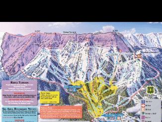 Ski Trail Map App