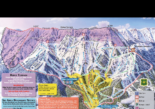 Ski Trail Map App