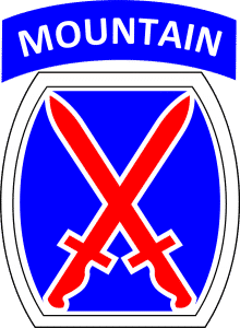 The 10th Army Mountain Division
