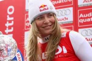 Lake Louise Winner Lindsey Vonn