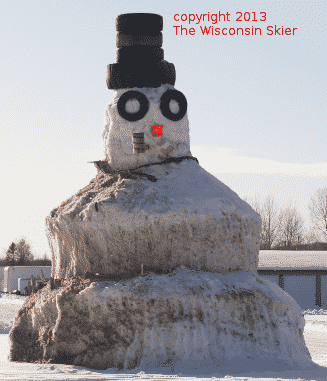 The Wabeno Snowman