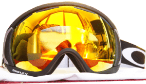 Oakley Canopy Goggles with Fire Iridium Lens