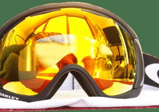 Oakley Canopy Goggles with Fire Iridium Lens