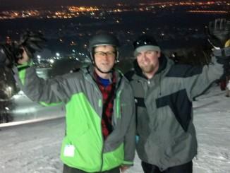 Night Skiing at Granite Peak