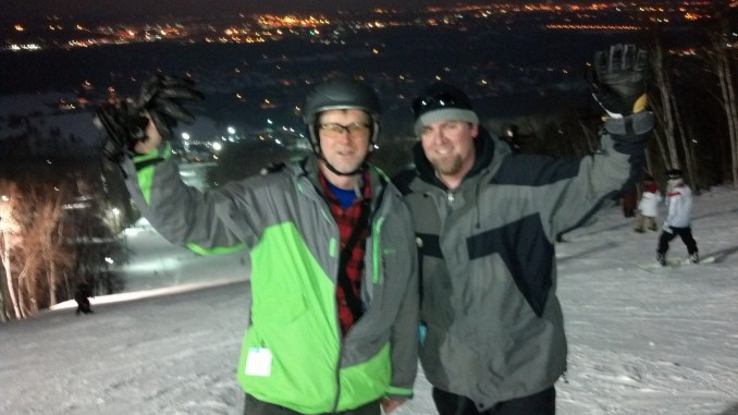 Night Skiing at Granite Peak