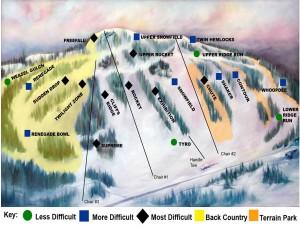Marquette Mountain Ski Trip 2015