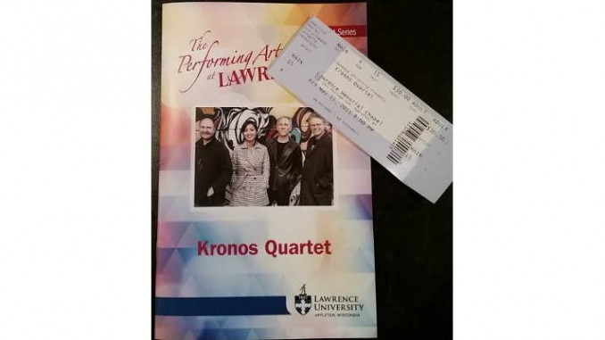 Kronos Quartet in Appleton Wisconsin