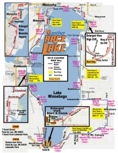 Race the Lake 2015 the Official Map!