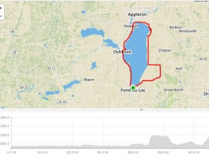 Ganther Race the Lake 2015 high level course and elevation maps!
