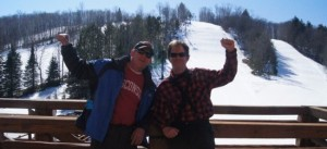 ski smaller means enjoying friends and family first