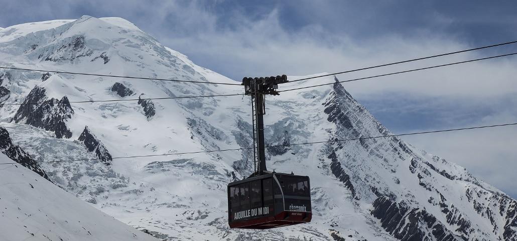 Skiing ABCs C -- Chamonix Tram over Mt Blanc