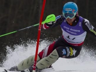 Ted Ligety Injured -- Ted Ligety Making a Slalom Ski Turn