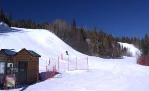 Lutsen Ski Resort Review -- Bottom of Moose Mountain