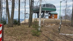 Granite Peak Cycling -- Ski Lift Unloading Area