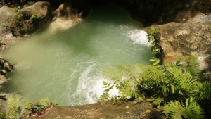 A pool at Mainit Springs in Cebu Philippines -- project a squared