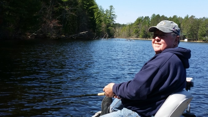 A New Road -- Fishing with Jim on Sunday