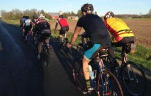 Group Cycling -- Stone Cellar ride -- Photo courtesy of Adam Koenig