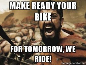 Race the Lake 2016 -- Silly Bike Meme