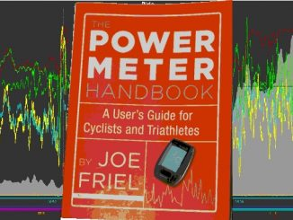 The Power Meter Handbook overlaid my Race the Lake 2016 Golden Cheetah Ride Screen