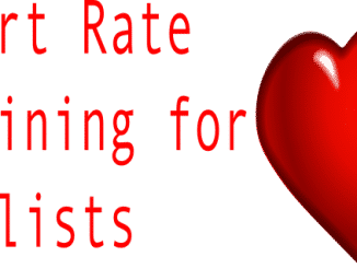 Heart rate training for cyclists