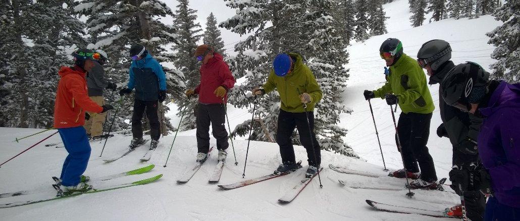 Taking Ski Lessons