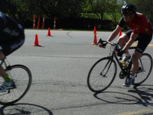 NEW Omnium 2017 -- Me cornering at the Wheel and Sprocket 4/5 Crit