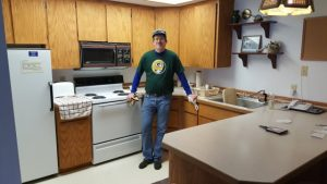Whitefish Lodging Review -- The Wiscoinsin Skier in the kitchen