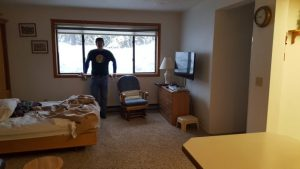 Whitefish Lodging Review -- in the living room