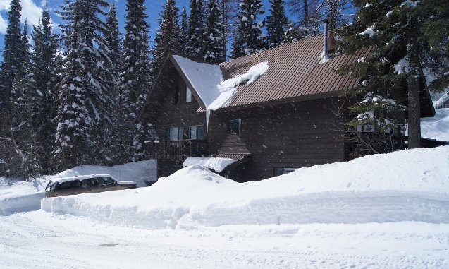 whitefish lodging review -- photo of the Evergreen condo