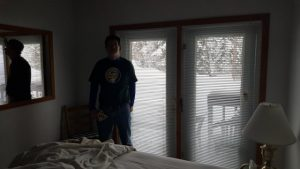 Whitefish lodging review -- in the master bedroom