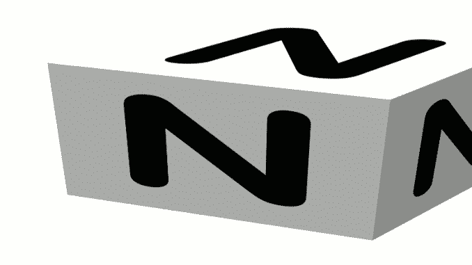 The Skiing ABCs N -- a cube with N on the faces