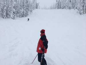 skiing whitefish mountain resort -- the kodiak mogul run