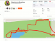 Cross of the North 2018 -- strava screen of my race