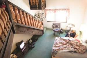 Looking inside a Whitecap Hotel Room