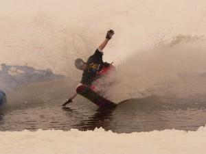 Olympic Pond Skimming!