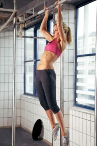 Cross fit chick!