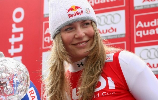Lake Louise Winner Lindsey Vonn