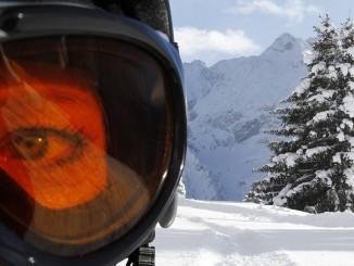 Vision when Skiing