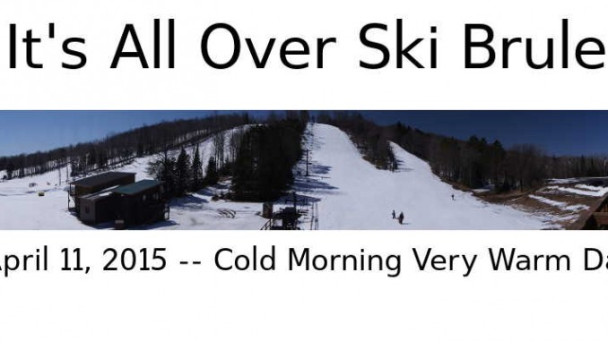 It's All Over Ski Brule