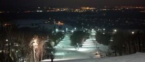 All About Night Skiing -- Granite Peak at Night